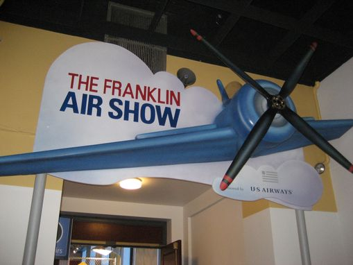 Custom Made Franklin Air Show Sign