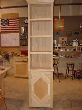 Custom Made Tall Book Case