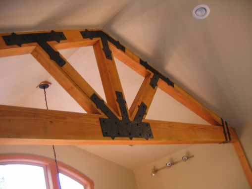 Custom Made Beam Brackets