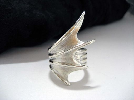 Custom Made Dragon Wing Ring