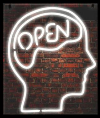 Custom Made Open Mind Neon Sign