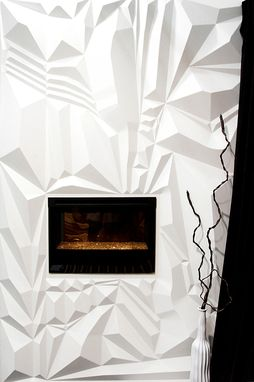 Custom Made Fireplace Wall