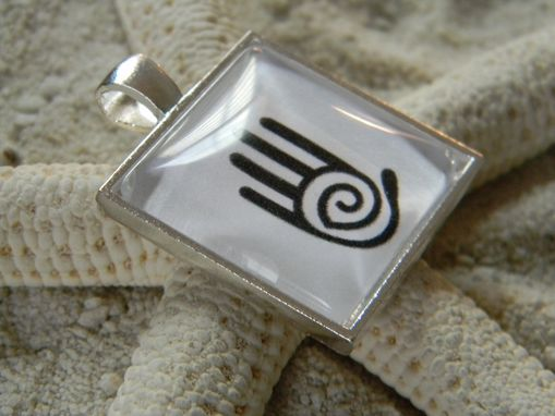 Custom Made Custom Company Logo Glass Pendant