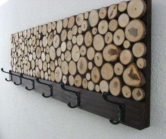 Custom Rustic Wood Coat Rack Towel Rack By Modern Rustic Art LLC Custom Wood Coat Racks