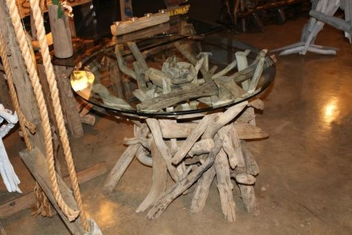 Custom Made Driftwood Dining Table