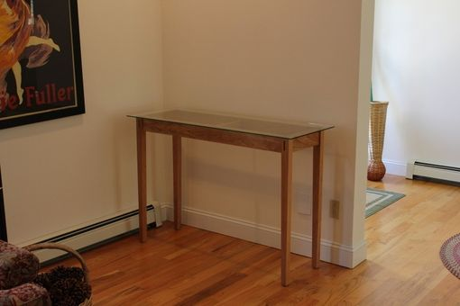 Custom Made Seigal Side Table