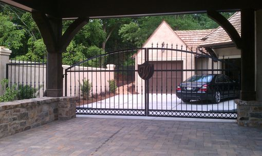 Custom Made Walsh Wrought Iron Driveway Gate