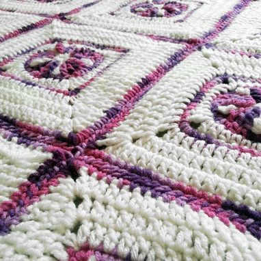 Custom Made Star Crochet Baby Blanket
