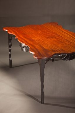 Custom Made Leopard Dining Table