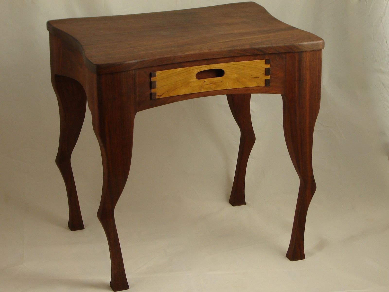 Hand Crafted Sitka End Table/Nightstand Black Walnut by Sentinel ...