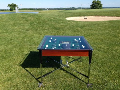 Custom Made Golf Club Table