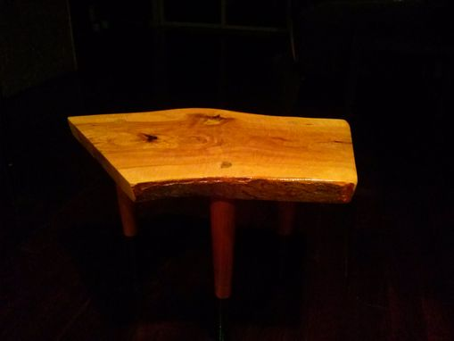 Custom Made Crab Apple End Table
