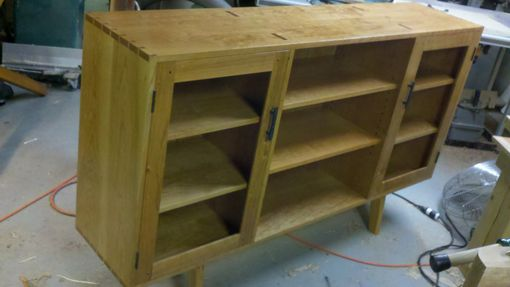 Custom Made Tv Component Cabinet