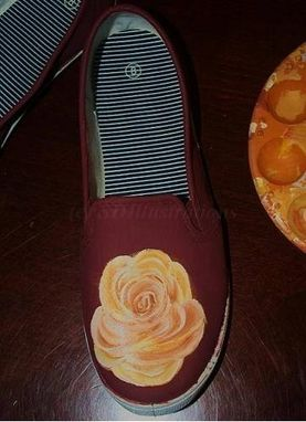 Custom Made Custom, Hand-Painted Designs: Shoes