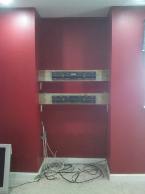 Custom Made Built In Entertainment Center