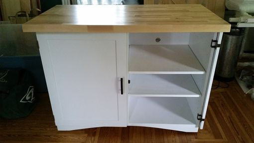 Custom Made Mobile Appliance Cabinet