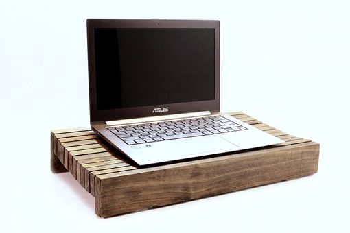 Custom Made Woodwarmth Laptop Stand And Tabletop Stand