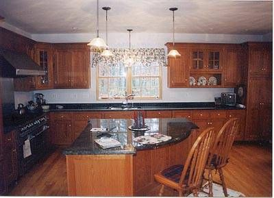 Custom Made Traditional Cherry Kitchen