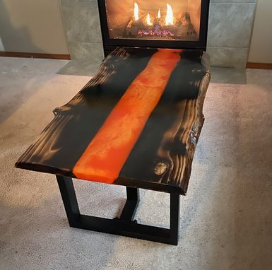 Custom Made Kulshan Lava Table
