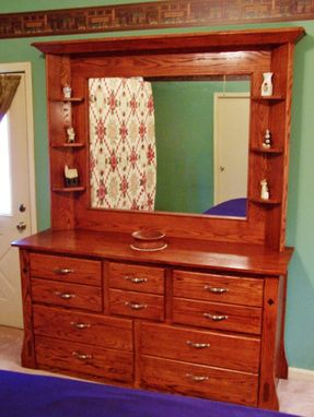 Custom Made Womens Large Mirror Dresser