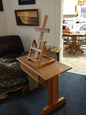 Custom Made Easel And Desk