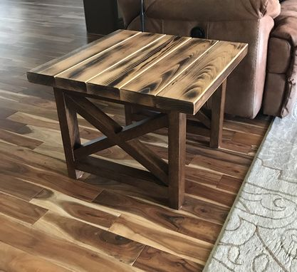 Custom Made Farmhouse Side Table