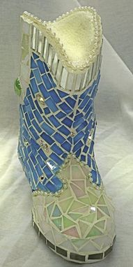 Custom Made Mosaic Shoes And Boots