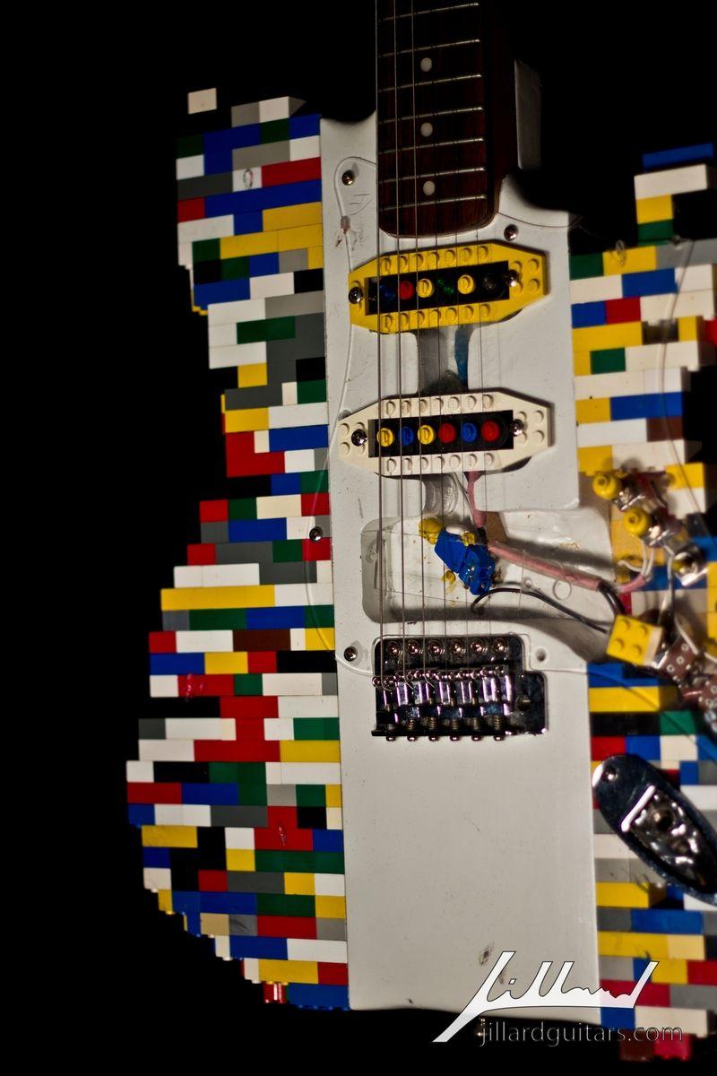 Hand Made Lego Guitar By Jillard Guitars Custommade Com