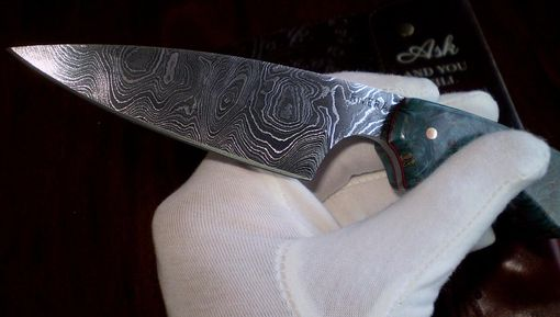 Custom Made Damascus 8