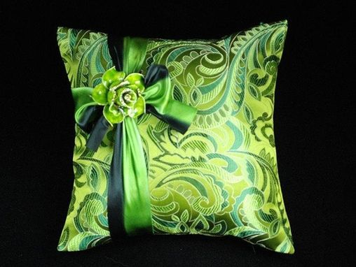 Custom Made Specialty: Emerald City Pillow