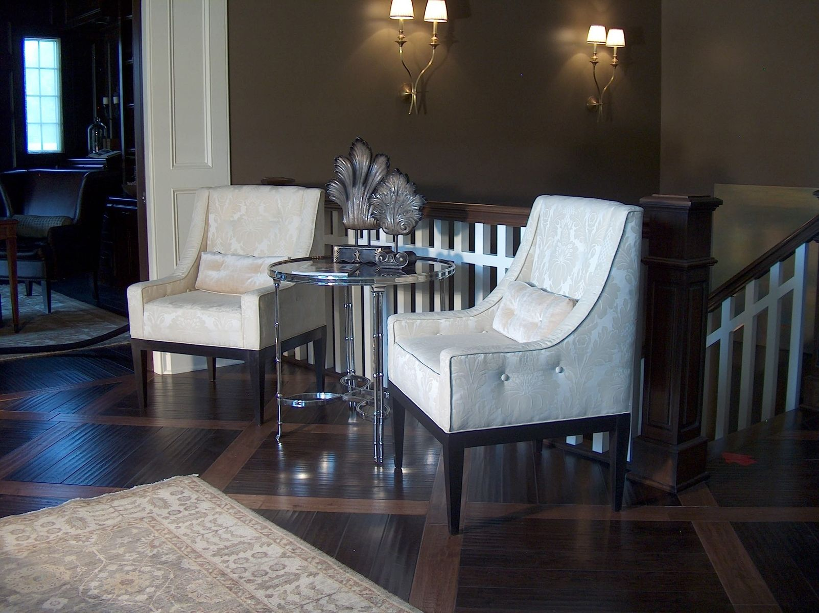custom residential foyer chairs by access designer decor