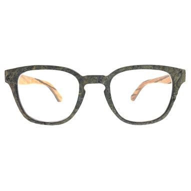 Custom Made Stone And Wood Eyewear