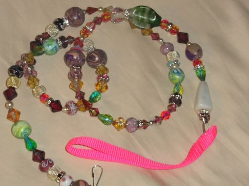 Custom Made Beaded Dog Leash