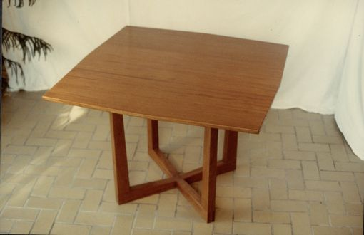 Custom Made Bubinga Table + Chairs.