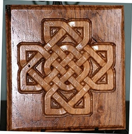 Handmade Celtic Knot Carvings By The Old Man S Woodshop