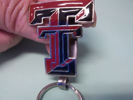 Custom Made College Football Key Rings