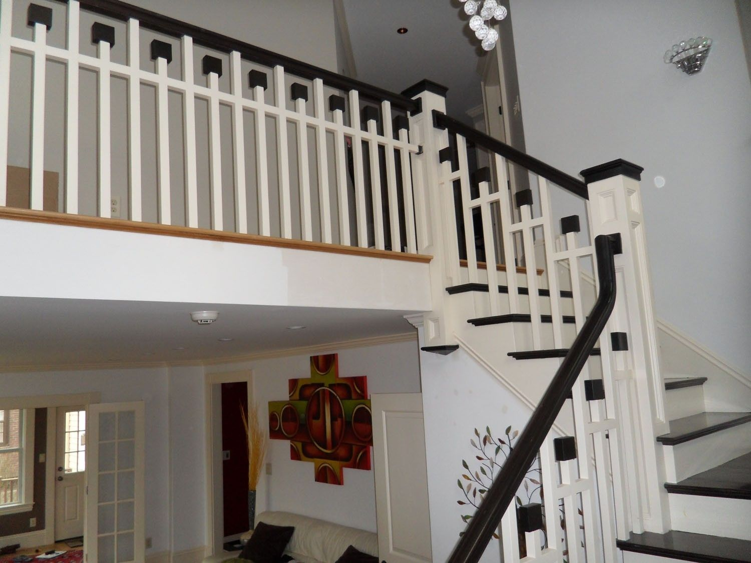 Hand Crafted Arts Crafts Style Staircase By The