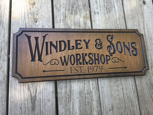Custom Made Work Shop Sign Custom Made Sign