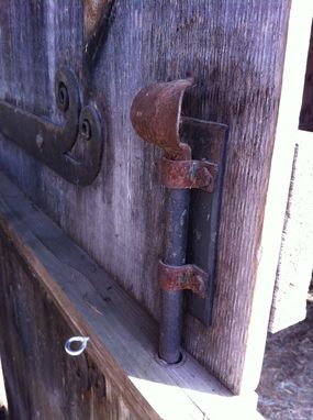 Custom Made Hinges, Latches, And Hasps