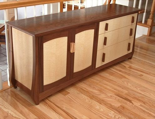 Custom Made Side Board Chest Of Drawers Cabinet