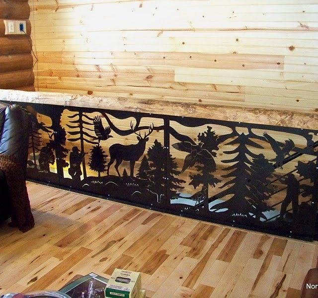 Custom Metal Decor Railing Panels By Piwcorp