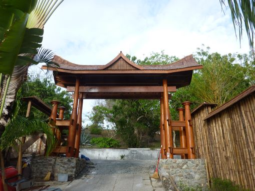 Custom Made Japanese Pagoda Gate