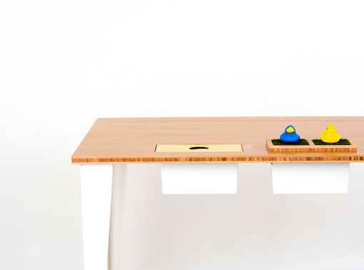 Custom Made Modern Minimalist Desk