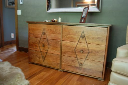 Custom Made 6 Drawer Dresser In Art Deco Style