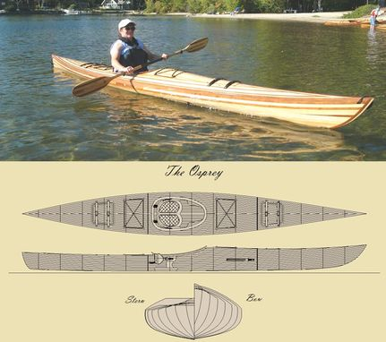 Custom Made 'The Osprey' Kayak Kit
