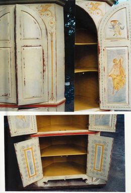 Custom Made Tuscan Hutch