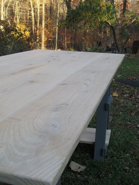 Custom Made Sawhorse Desk