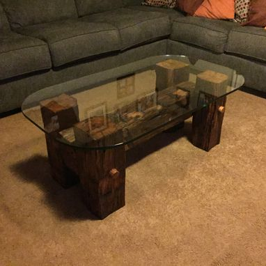 Custom Made Barn Beam Coffee Table