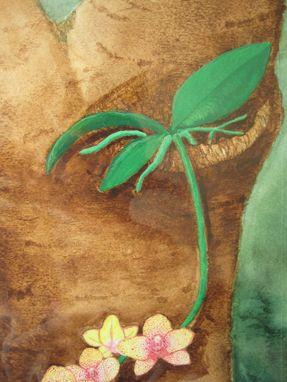 "Custom Made ""Phalaenopsis"" Orchid Watercolor Painting"