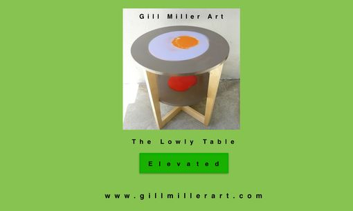 Custom Made Tables As Functional Art